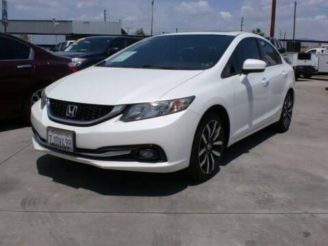 2015 Honda Civic for sale at Williams Auto Mart Inc in Pacoima CA