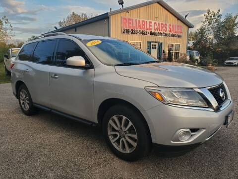 2014 Nissan Pathfinder for sale at Reliable Cars Sales in Michigan City IN