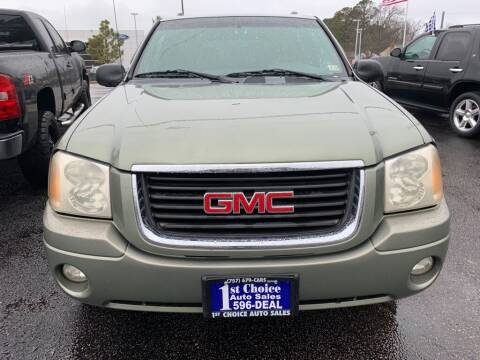 2003 GMC Envoy for sale at 1st Choice Auto Sales in Newport News VA