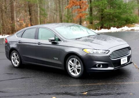 2016 Ford Fusion Energi for sale at Flying Wheels in Danville NH