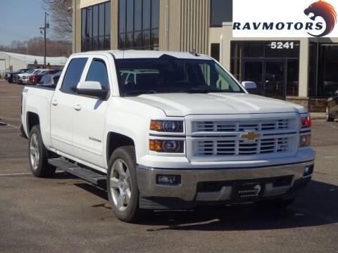 2015 Chevrolet Silverado 1500 for sale at RAVMOTORS 2 in Crystal MN