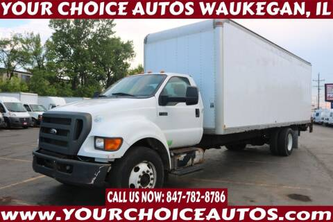2013 Ford F-750 Super Duty for sale at Your Choice Autos - Waukegan in Waukegan IL