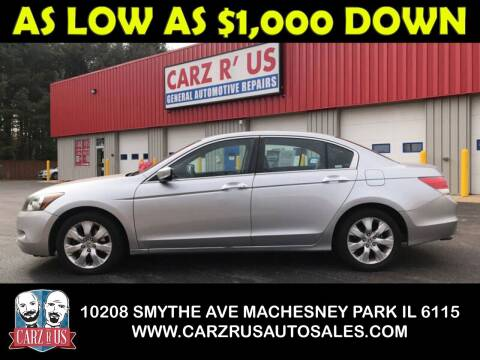 2008 Honda Accord for sale at Carz R Us in Machesney Park IL