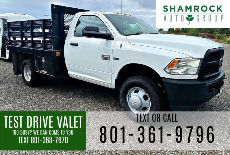 2012 RAM Ram Chassis 3500 for sale at Shamrock Group LLC #1 in Pleasant Grove UT