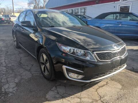 2013 Kia Optima Hybrid for sale at Peter Kay Auto Sales in Alden NY