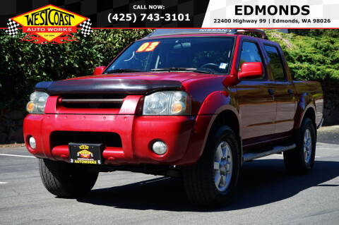 2003 Nissan Frontier for sale at West Coast Auto Works in Edmonds WA
