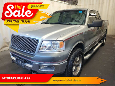 2004 Ford F-150 for sale at Government Fleet Sales in Kansas City MO