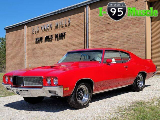 1970 Buick Gran Sport for sale at I-95 Muscle in Hope Mills NC