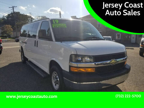 2019 Chevrolet Express Passenger for sale at Jersey Coast Auto Sales in Long Branch NJ