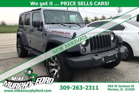 2015 Jeep Wrangler Unlimited for sale at Mike Murphy Ford in Morton IL