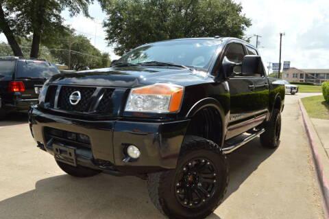 2008 Nissan Titan for sale at E-Auto Groups in Dallas TX