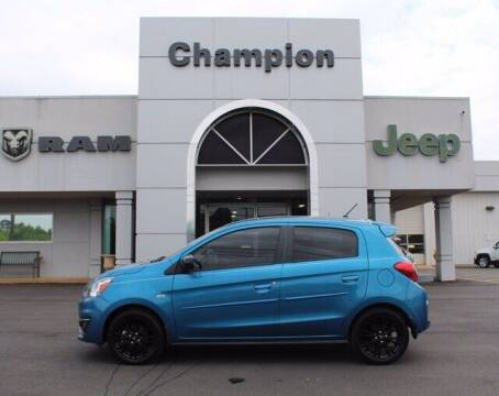 2020 Mitsubishi Mirage for sale at Champion Chevrolet in Athens AL