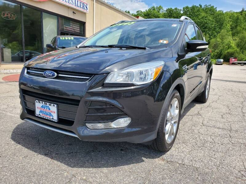 2015 Ford Escape for sale at Auto Wholesalers Of Hooksett in Hooksett NH