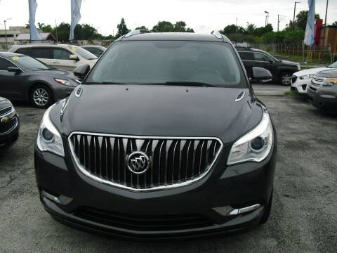 2014 Buick Enclave for sale at SUPERAUTO AUTO SALES INC in Hialeah FL