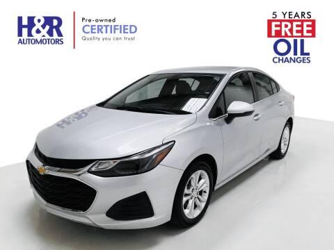 2019 Chevrolet Cruze for sale at H&R Auto Motors in San Antonio TX