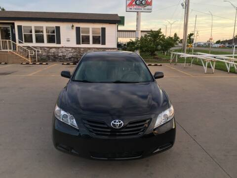 2008 Toyota Camry for sale at Zoom Auto Sales in Oklahoma City OK