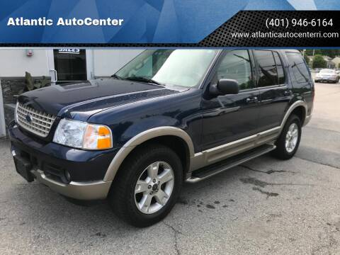 2003 Ford Explorer for sale at Atlantic AutoCenter in Cranston RI