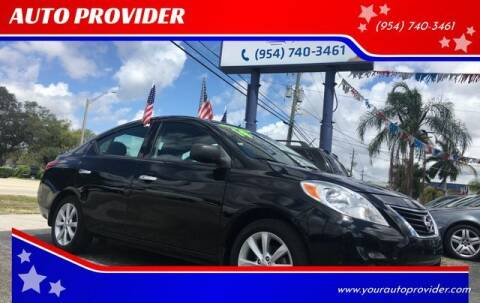 2014 Nissan Versa for sale at AUTO PROVIDER in Fort Lauderdale FL