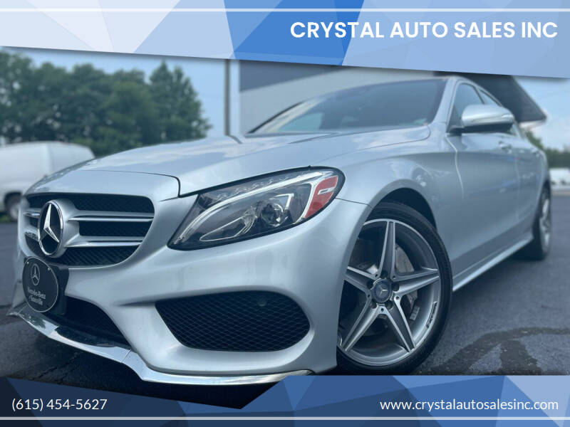 2015 Mercedes-Benz C-Class for sale at Crystal Auto Sales Inc in Nashville TN