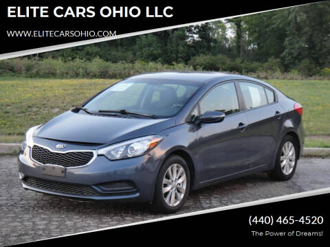 2016 Kia Forte for sale at ELITE CARS OHIO LLC in Solon OH