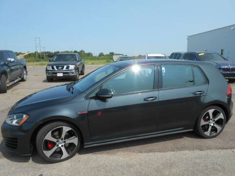 2015 Volkswagen Golf GTI for sale at Salmon Automotive Inc. in Tracy MN