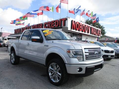 2014 Ford F-150 for sale at Giant Auto Mart 2 in Houston TX