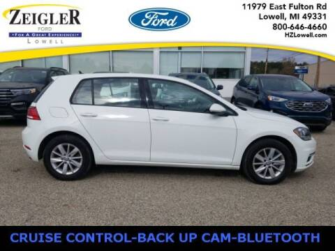 2018 Volkswagen Golf for sale at Zeigler Ford of Plainwell- michael davis in Plainwell MI