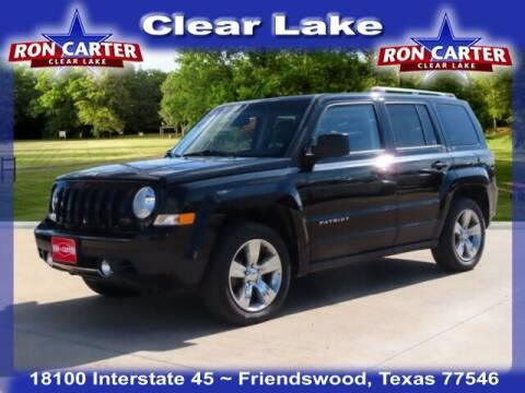 2015 Jeep Patriot for sale at Ron Carter  Clear Lake Used Cars in Houston TX