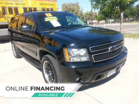 2012 Chevrolet Suburban for sale at Super Cars Sales Inc #1 - Super Auto Sales Inc #2 in Modesto CA