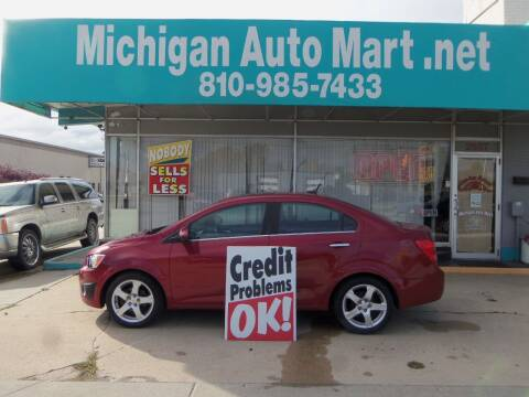 2012 Chevrolet Sonic for sale at Michigan Auto Mart in Port Huron MI
