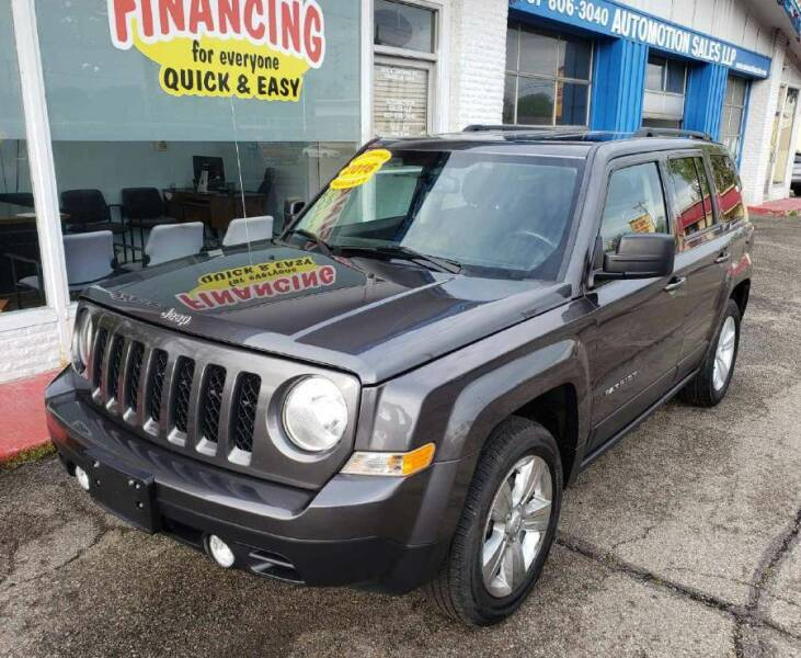 2016 Jeep Patriot for sale at AutoMotion Sales in Franklin OH