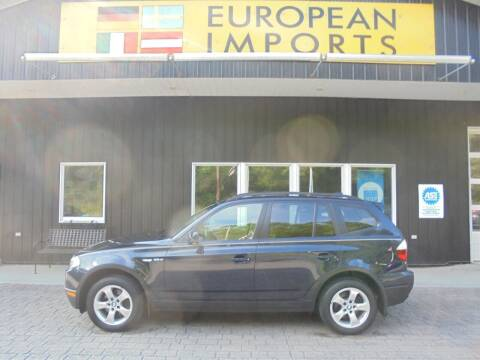 2007 BMW X3 for sale at EUROPEAN IMPORTS in Lock Haven PA