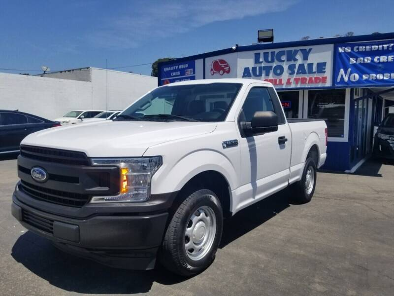 2018 Ford F-150 for sale at Lucky Auto Sale in Hayward CA