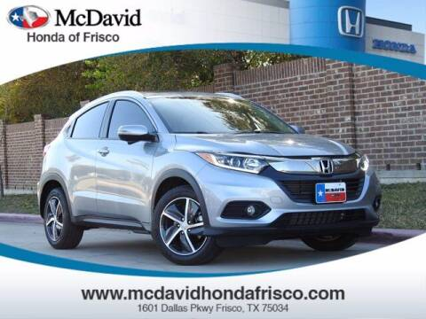 2021 Honda HR-V for sale at DAVID McDAVID HONDA OF IRVING in Irving TX