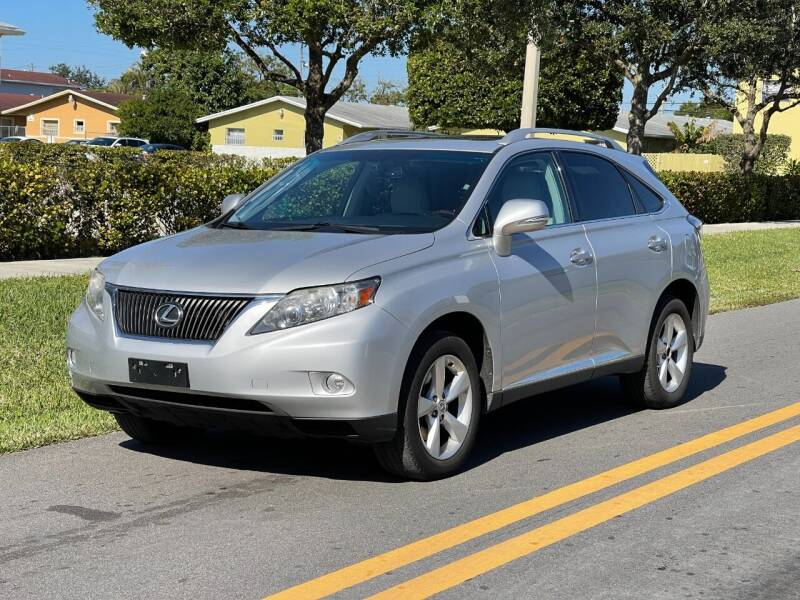 2011 Lexus RX 350 for sale at GTR Motors in Davie FL
