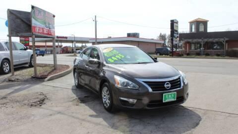 2014 Nissan Altima for sale at E & S Auto Sales in Crest Hill IL