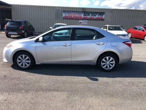 2014 Toyota Corolla for sale at Stikeleather Auto Sales in Taylorsville NC