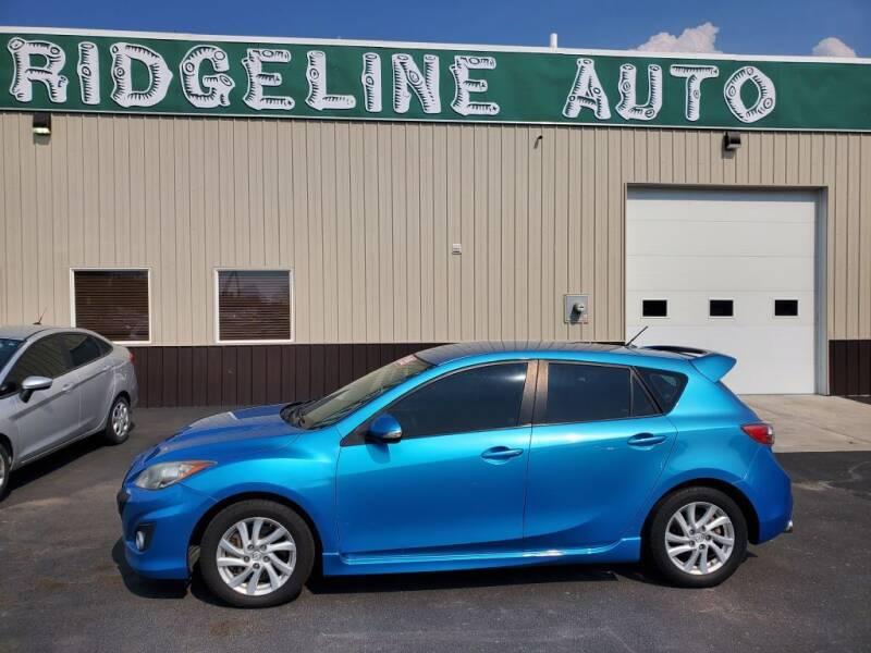 2011 Mazda MAZDASPEED3 for sale at RIDGELINE AUTO in Chubbuck ID