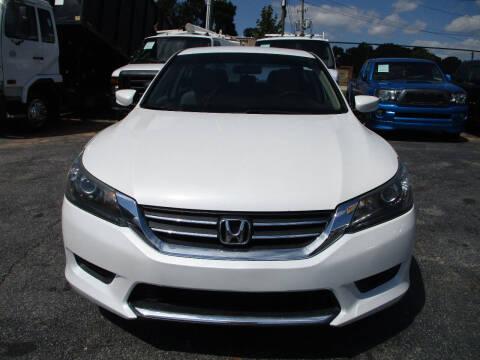 2013 Honda Accord for sale at LOS PAISANOS AUTO & TRUCK SALES LLC in Doraville GA