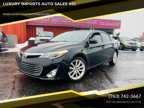2013 Toyota Avalon for sale at LUXURY IMPORTS AUTO SALES INC in North Branch MN