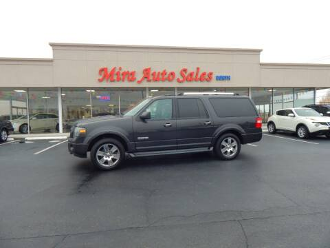 2007 Ford Expedition EL for sale at Mira Auto Sales in Dayton OH