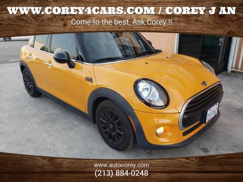 2017 MINI Hardtop 4 Door for sale at WWW.COREY4CARS.COM / COREY J AN in Los Angeles CA