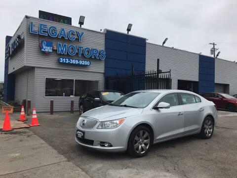 2012 Buick LaCrosse for sale at Legacy Motors in Detroit MI