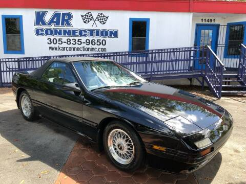 1988 Mazda RX-7 for sale at Kar Connection in Miami FL