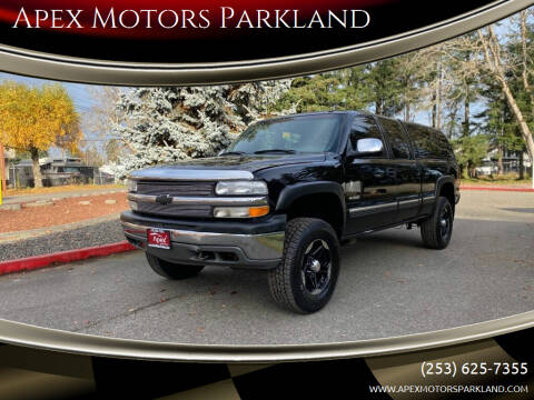 2001 Chevrolet Silverado 1500 for sale at Apex Motors Parkland in Tacoma WA