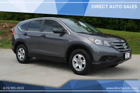 2014 Honda CR-V for sale at Direct Auto Sales in Franklin TN