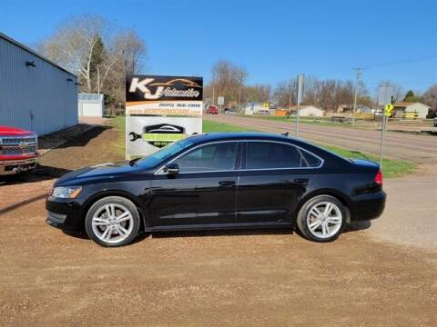 2014 Volkswagen Passat for sale at KJ Automotive in Worthing SD
