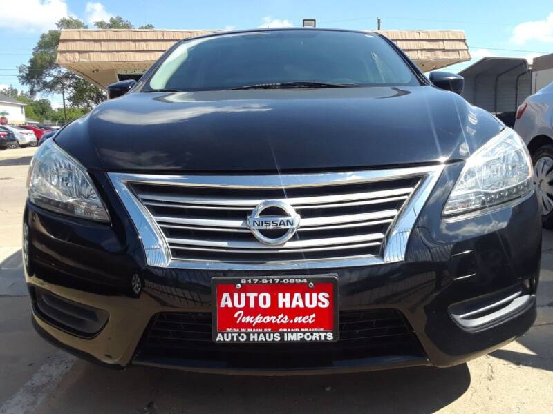 2014 Nissan Sentra for sale at Auto Haus Imports in Grand Prairie TX