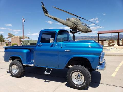 1958 GMC C100 for sale at Pikes Peak Motor Co in Penrose CO