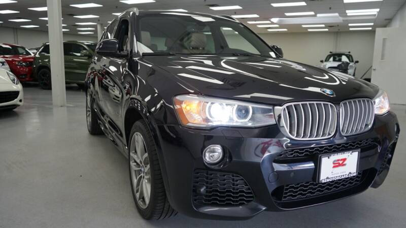 2016 BMW X3 for sale at SZ Motorcars in Woodbury NY